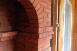печь с аркой